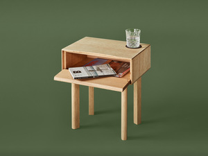 Lucinda Bedside by Jake Williamson - Bedside Table, Solid Timber