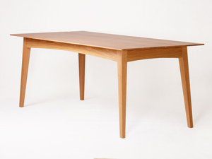 Schulim Table by Eco wood design - Contemporary, Light, American Oak, Scandinavian, Dining