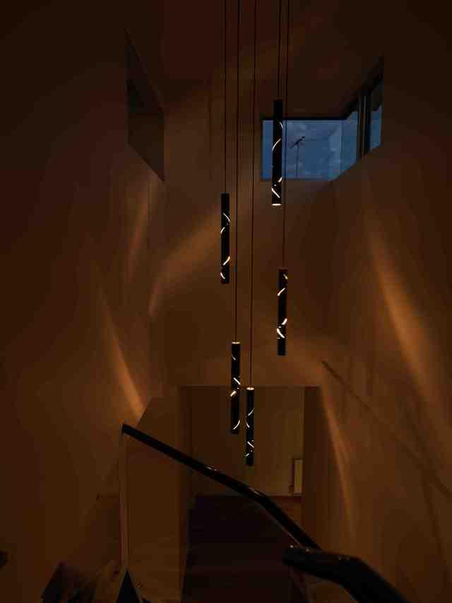 Black Rain by ilanel design studio - Pendants, Black, Tubes