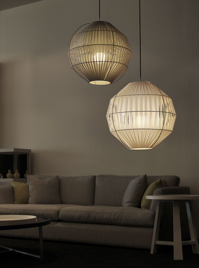 Kahdu by ILANEL - Lampshade, Light, Lighting, Fabric