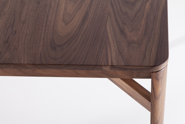 Itto Dining Table - Square by Anthony Kleine - Dining Table, Table, Dining, Walnut, American Walnut, Square Dining Table, Square