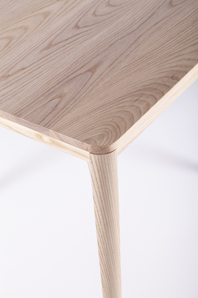 Itto Dining Table - Square by Anthony Kleine - Table, Dining Table, Square, Square Table, Dining, Ash