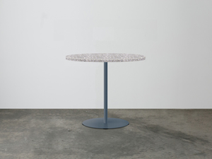 SLABS by Design | Zen Concrete Cafe Table by SLABS by Design - Concrete Table, Concrete Cafe Table, Cafe Table, Commercial Furniture, Cafe Furniture, Concrete, Terrazzo