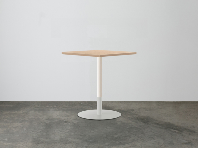 SLABS by Design | Two-Tone Concrete Cafe Table by SLABS by Design - Concrete, Concrete Cafe Table, Cafe Furniture, Terrazzo Furniture, Cafe Table, Commercial Furniture