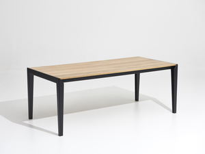 Dining table. by Steel Road Custom Furniture - Timber, Table, Ebonized, Oak, Dining, Boardroom