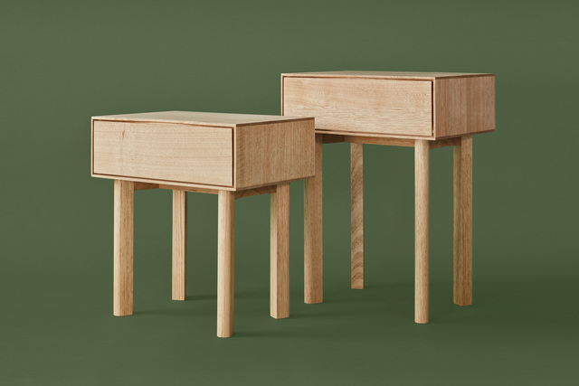 The Bedside by Peninsula - Bedside Table, Solid Timber