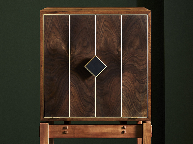 Liquor Cabinet  by Ross Thompson - Liquor Cabinet, Art Deco, Drinks Cabinet, Bar, Cocktail Cabinet, Wine Cabinet