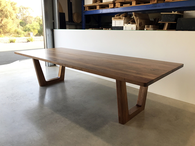 Clairault Dining Table by Nathan Day Design - Blackwood, Walnut, Dining Table, Chunky, Elegant