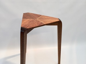 Three Leaves Side Table  by Matthew William  Parrish - Side Table