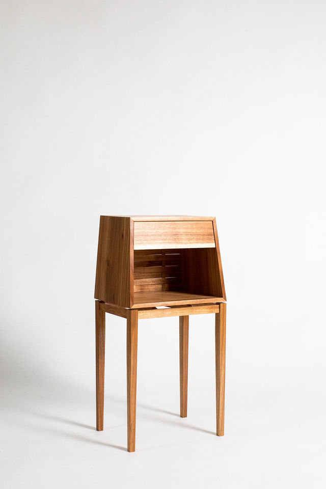 Smallscape Bedside Tables by Lou Harriss - Louharriss, Smallscapebedside, Smallspaceliving