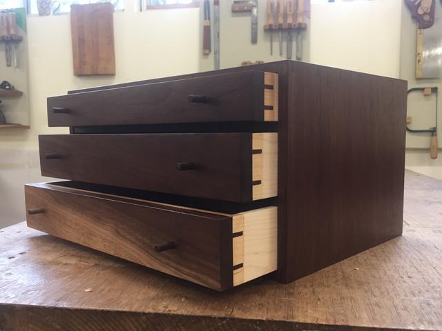 Jewellery Box by Lou Harriss - Louharriss, Jewellerybox, Walnut