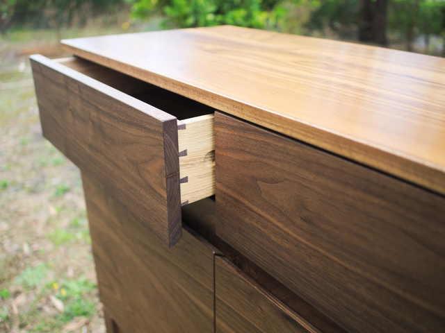 Luna II Sideboard by Lloyd Brooke - Walnut, Sideboard, Credenza, Storage, Entrance, Dining, Mid Century, Scandinavian, Bespoke, Minimalist