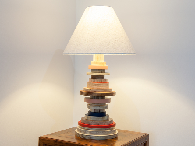 Not So Standard Lamps by Ceri Frahm - Lamp, Table Lamp, Plywood Lamp, Ply Lamp, Light, Lighting, Colourful Light, Colourful Lamp, Kids Furniture, Plywood Furniture