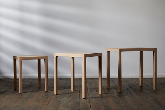 Nesting tables by Rolf Barfoed - Tables, Nesting Tables, Coffee Tables, Side Tables, Wine Tables, Dining Tables