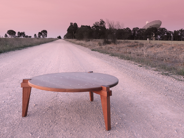 The Dish by Sawdust Bureau - Coffee Table, Starmap, Table