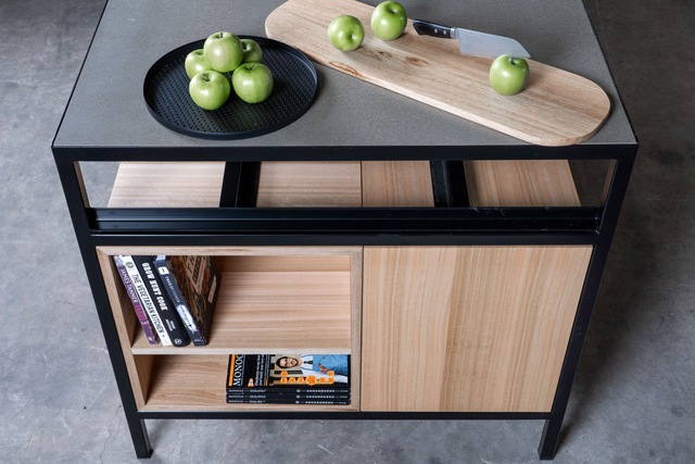 Dining Island by Sawdust Bureau - Kitchen, Islandbench, Joinery, Storage