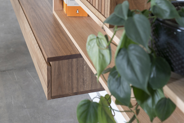 Tetromino Cabinet by Sawdust Bureau - Whisky Cabinet, Cabinet, Media Console, Bookshelf
