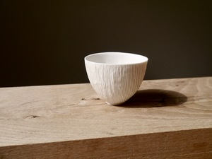 Douglas fir porcelain vessel  by MWP  Furniture Design - Ceramics, Vessel, Woodturning