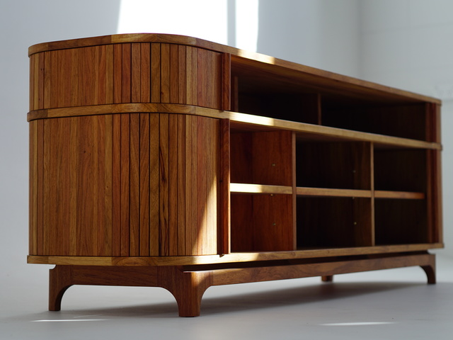 Tambour Door Cabinet by MWP  Furniture Design - Tambour Door, Mid Century, Cabinet