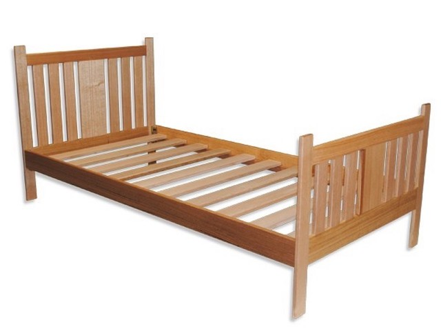 NATURAL WOODEN SINGLE BED by Poole's Design - #NATURALWOODENSINGLEBED, #Poolesdesign, #Ecofriendly, #Sustainable