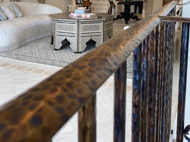 Stair handrail/Balustrade by Tibo Tournebize - Handrail, Unique Design, Metal Work