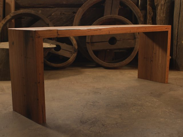 Beam Bench by James May - Bench, Seating, Shelves, Display, Reycled, Bench Seat