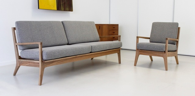 Eno Sofa by Fort Kingsley - Sofa, Lounge, Loungesuit, Livingroom, Couch, Midcentury, Design