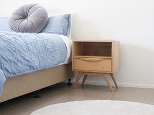 Bolan by Fort Kingsley - Sidetable, Bedroom, Furniture, Nightstand, Softclose, Drawer, Midcentury, Custom