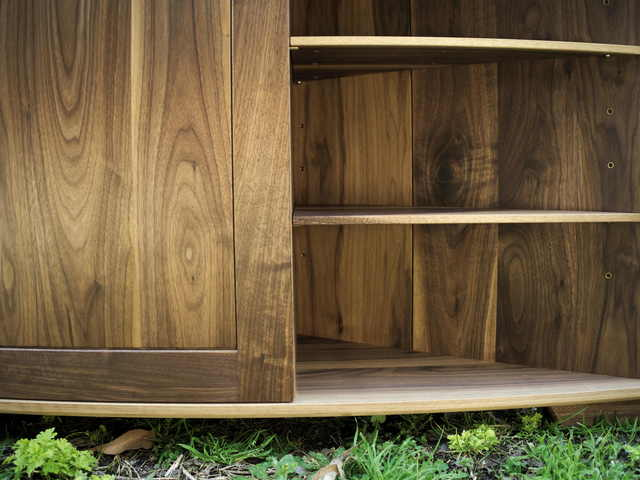 Bailey Entertainment Unit by Lloyd Anderson - Walnut, Tv Unit, Doors, Shelves, Entertainment, Sideboard, Built In, Tassie Oak, Soft Close