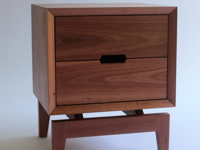 Side Stash Bedsides by James May - Bedside, Bedroom, Sidetables, Bedside Table, Recycled, Mid Century