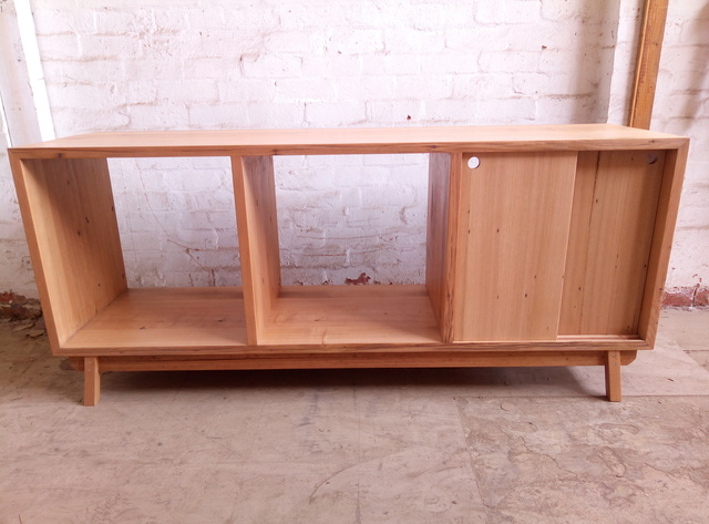 Recycled timber sideboard by Tim Denshire-Key - Sideboard, Entertainment Unit, Tv Unit, Pigeon Hole, Storage, Bookcase, Draws