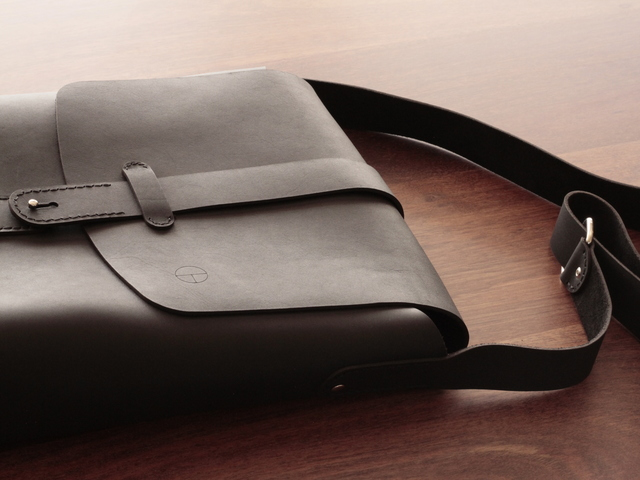The Askey satchel by Guy Paramore - Bag, Leather, Handmade