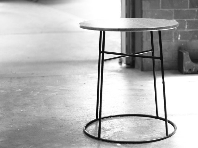 Side table by Guy Paramore - Table, Modern, Simple