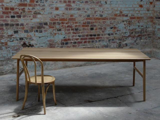 Dining table by The Brae Furniture Workshop - American Oak, Dining Table