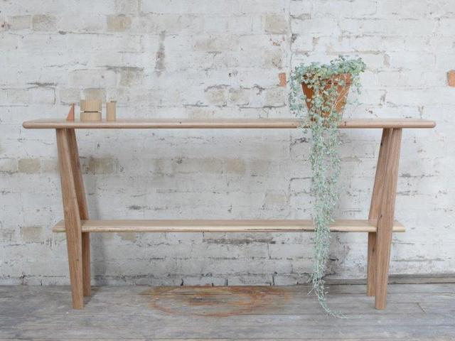 Hall Table by The Brae Furniture Workshop - Side Table, Recycled