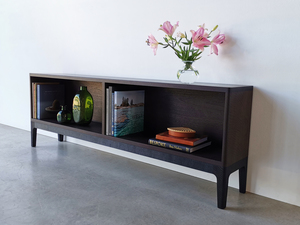 Sally's Bookcase by Nathan Day Design - Bookcase, Black, Ebonised, Jarrah