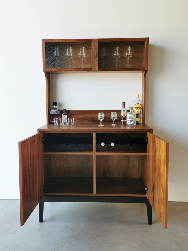 Jarvis Drinks Cabinet by Nathan Day Design - Drinkscabinet, Bar, Blackwood, Cabinet