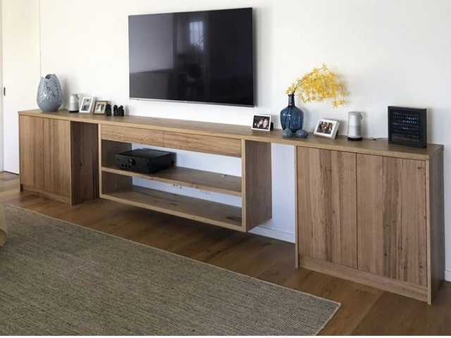 Messmate wall unit  by Zac Pearton - Cabinet, Tv Unit, Wall Unit, Cabinetry, Sideboard