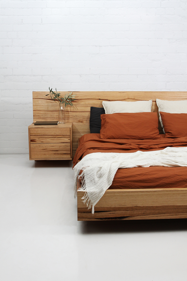 MATILDA BED by STUDIO ELLIOT - Custom Furniture, Hand Made, Custom Made, Floating Bed, Bed
