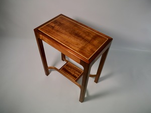 Blackwood and Huon pine Side table.  by Matthew William  Parrish - Side Table, Hallway Table, Coffeetable, Blackwood, Fiddleback
