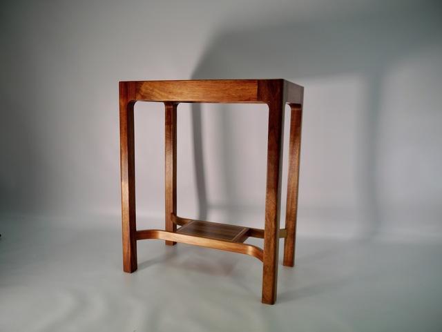 Custom Side table.  by Matthew William  Parrish - Side Table, Hallway Table, Coffeetable, Blackwood, Fiddleback