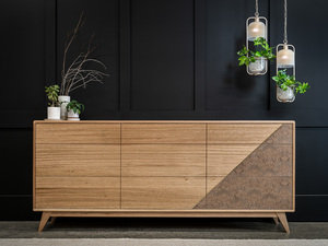 Chevron Dresser by Pedullá Studio - Dresser, Drawers, Cabinet, Tasmanain Oak, Unique