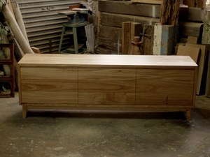 Wormwood TV Console by James May - Tv, Tv Cabinet, Living Room, Blonde Timber, Blackbutt, Chestnut, Tv Console, Storage