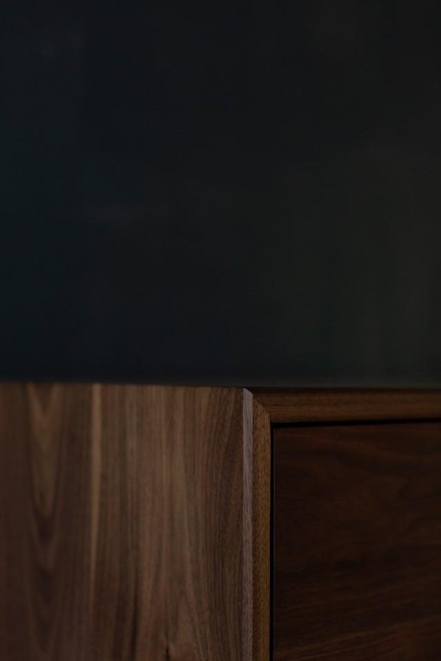 Walnut Sideboard  by Lars Laug - Walnut Cabinet, Cabinet