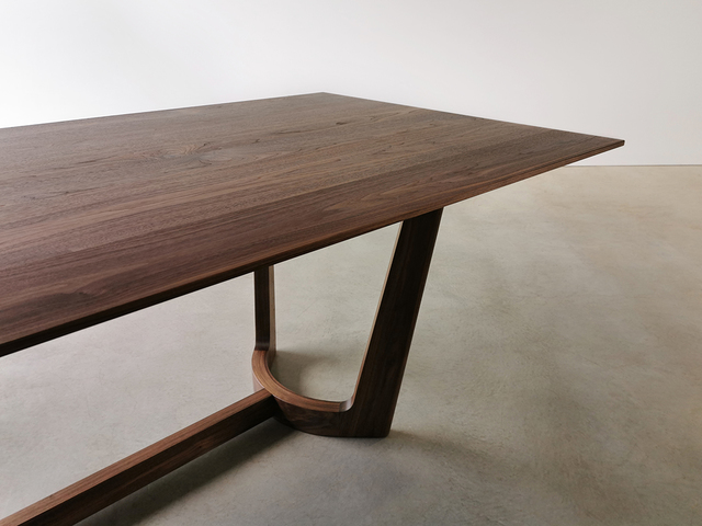 Froxfield Dining Table by Nathan Day Design - Walnut, Blackwood, Jarrah, Oak, Custom Dining Table, Leg Room