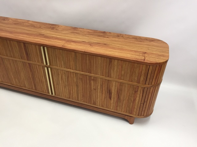 Tambour Door Cabinet by MWP  Furniture Design - Tambour Door, Mid Century, Cabinet