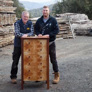 Craig Howard & Son, Custom Woodworker & Furniture Maker in Gielston Bay from Gielston bay, TAS