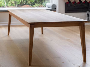 Smith dining table.  by Lambert  Ibanes - American Oak, Mid Century Modern, Contemporary, Dining Table, Floating Table Top