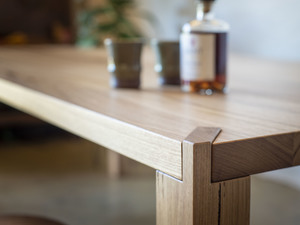 Outpost dining table. by Douglas Fir Design - Modern, Japanese, Joinery, Minimalist
