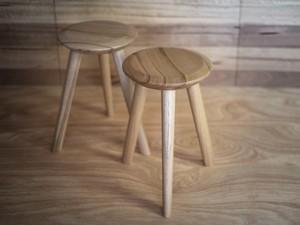Sputnik Stools by Douglas Fir Design - Milking Stool, Barstool, Australian Timber